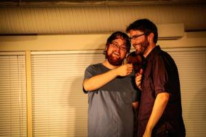 Improv comedy with The No-Nos. Photo credit: www.dxphoto.org