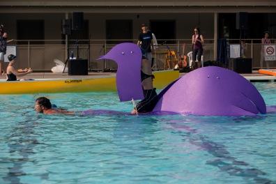 Theatre in the Pool: Earth Diver (Sum Theatre)